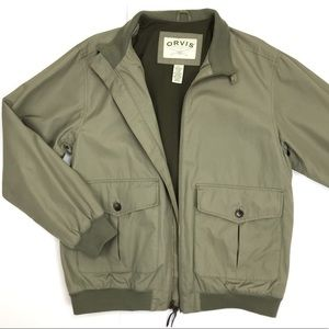 Orvis A-2 Lightweight Cotton Bomber Flight Jacket